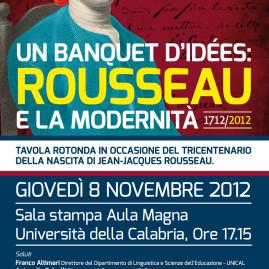 Un Banquet d'ideès: Rousseau et la modernità.