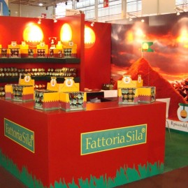 Fattoria Sila in the Foodland @Cibus 2008