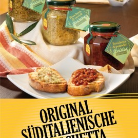 Original Suditalienische Bruschetta @Anuga – Colonia