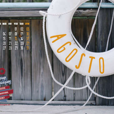 Garage August 2014 wallpaper Calendar