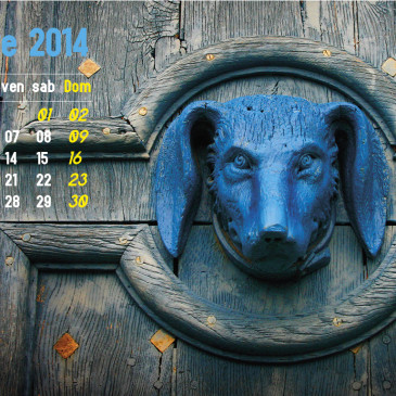 Garage November 2014 Wallpaper Calendar