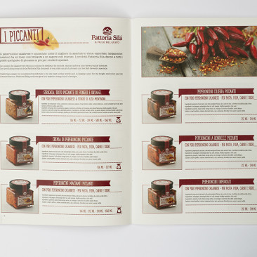 Fattoria Sila Gourmet Catalogue