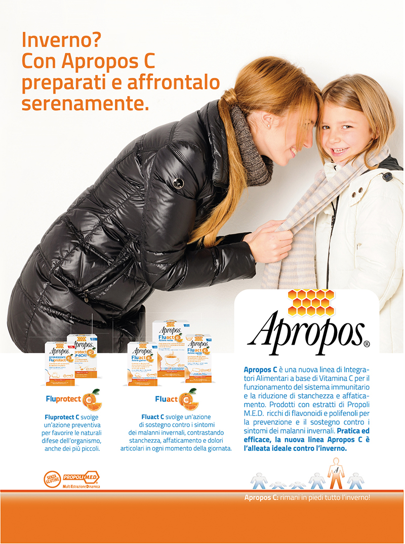Campagna advertising Apropos c