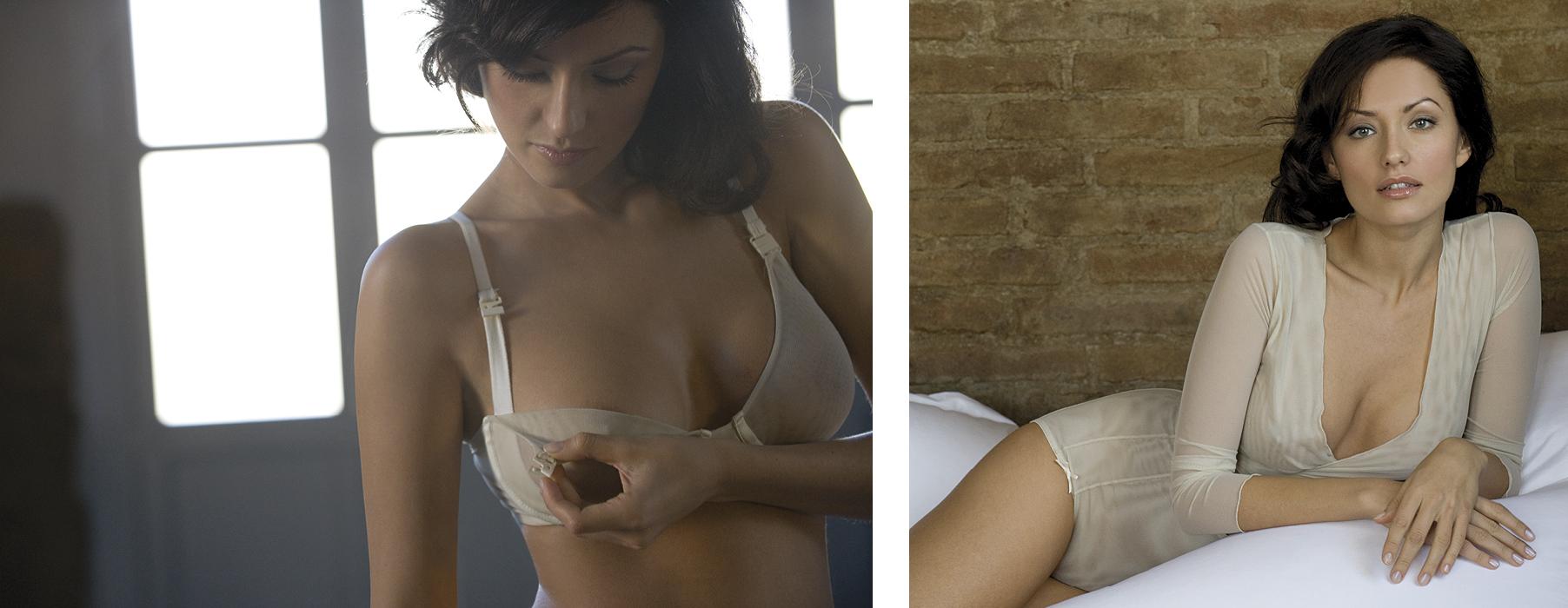 shooting lingerie mum