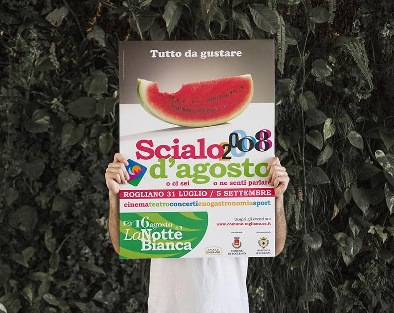 Scialo d'Agosto Campagna advertising