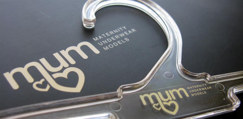 macro logo branding mum