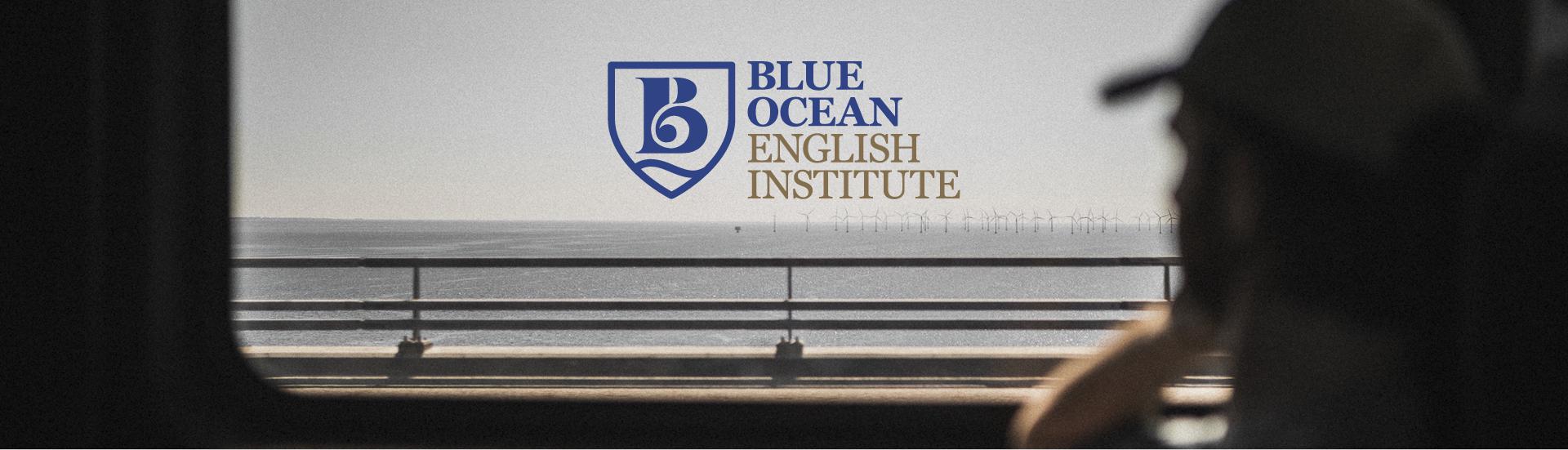 logo Blue Ocean English Institute Catanzaro