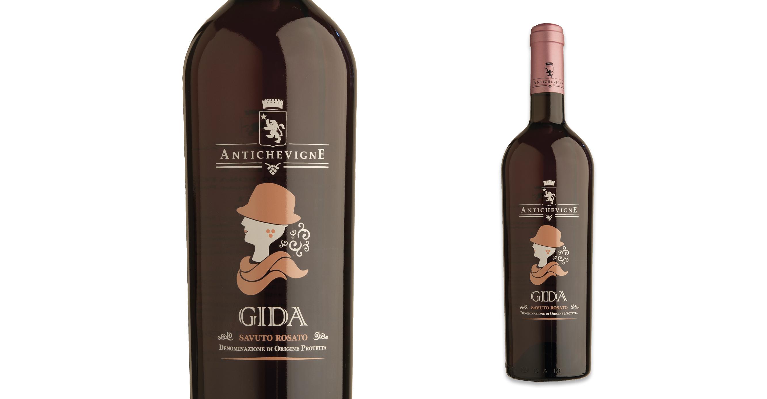 Gida etichetta vino