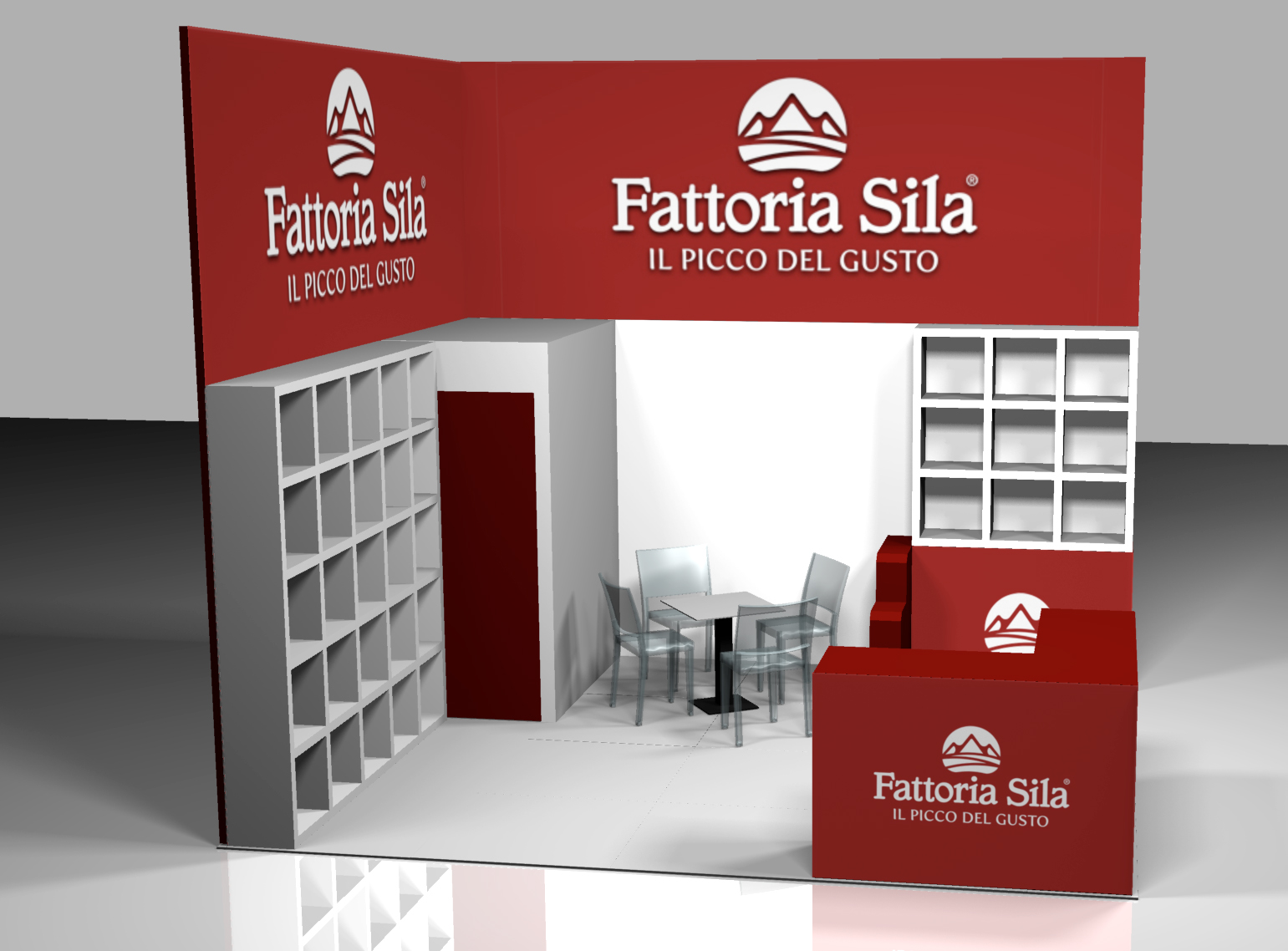 stand Cibus Fiere parma rendering