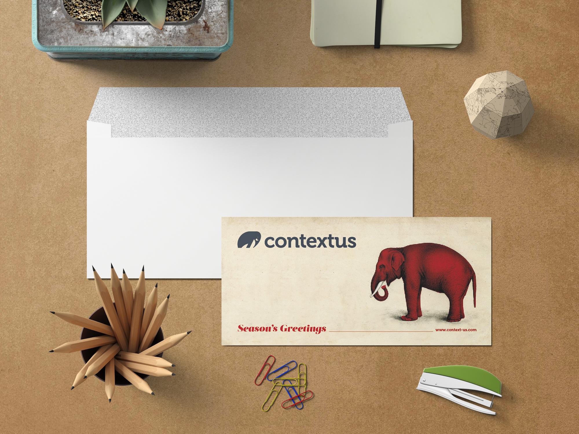 biglietto auguri di Natale Contextus