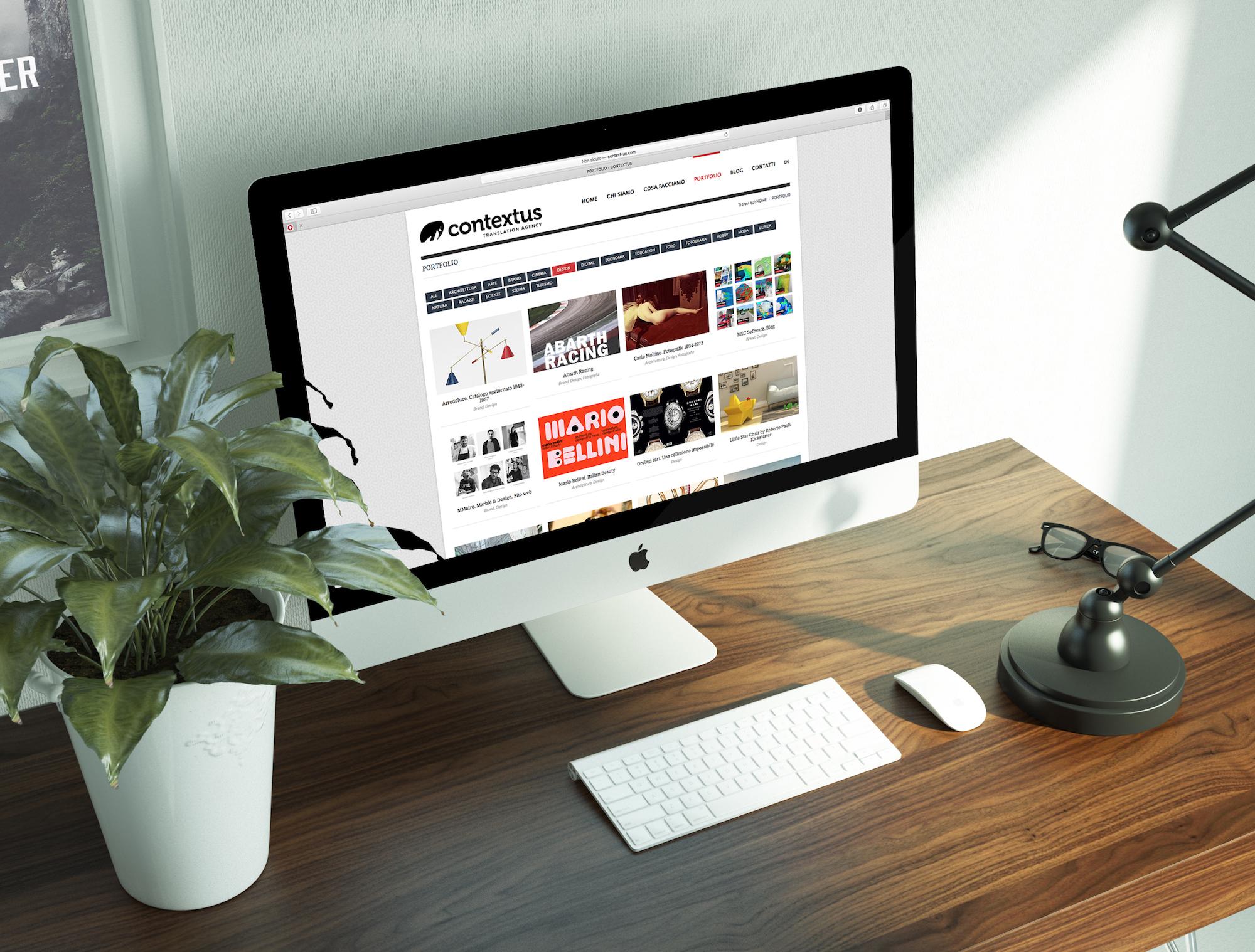 sito web responsive monitor mac