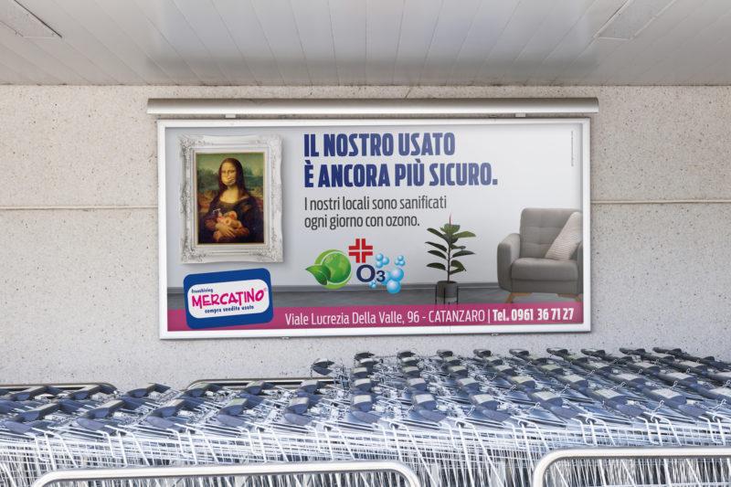 campagna advertising Mercatino Usato Catanzaro