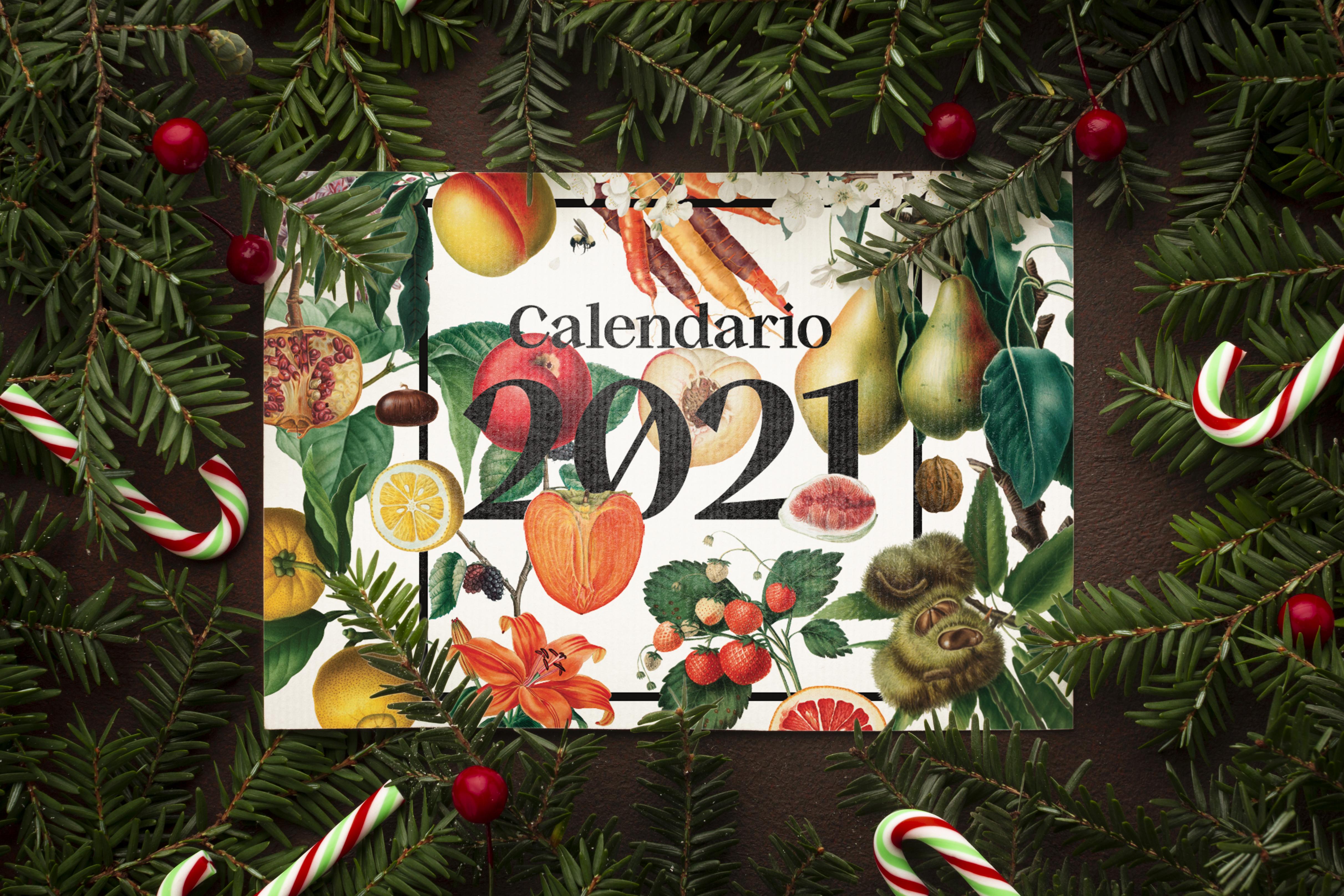 Natale 2021 Calendario.Calendario Botanico Illustrato 2021 Garage Comunicazione